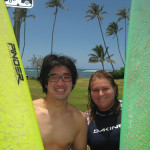 Dr. Giwann enrolled in many 5 day surfing clinics on Oahu and San Clemente, California