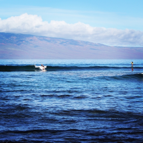 Turning Tips For Beginner Surfer Maui Oahu Hawaii