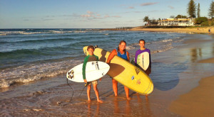 Grommet wants to progress their surfing trying different surf spots